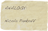 ANALOGY: 